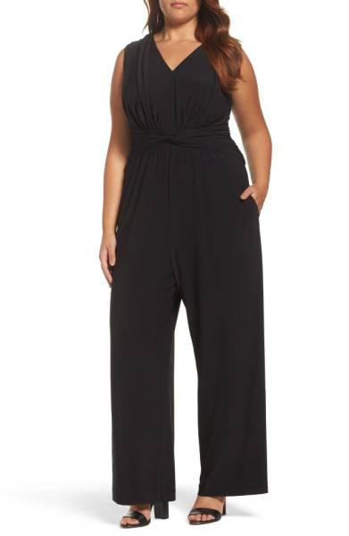 Eliza J Plus Size cocktail jumpsuit