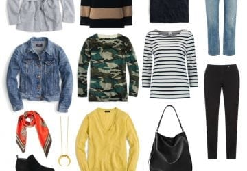 Capsule Wardrobe: Fall Weekend Style