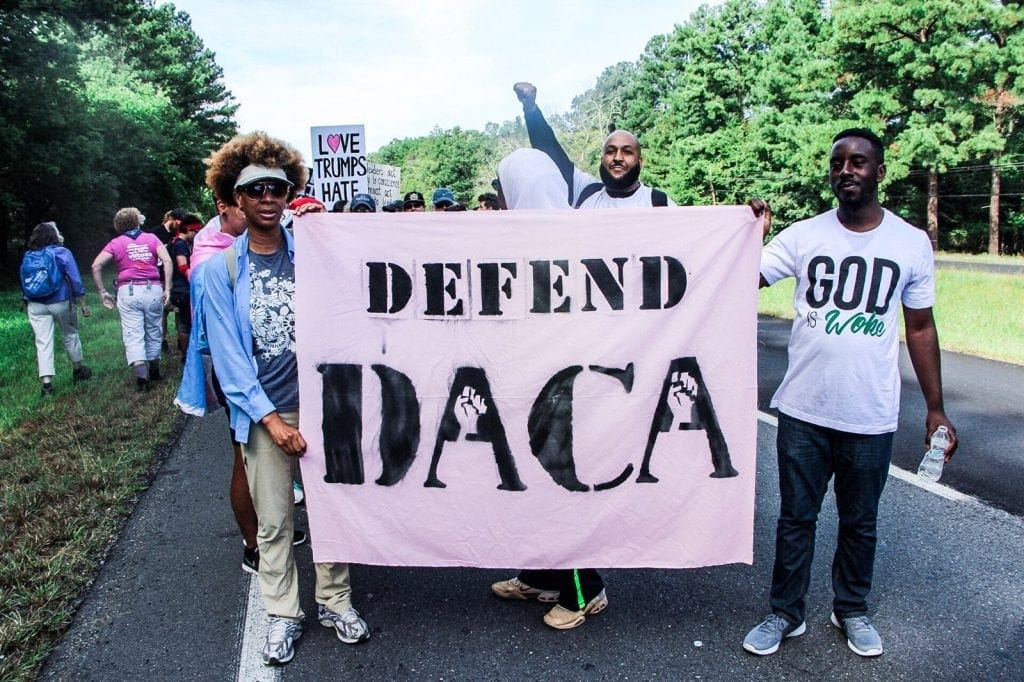 Defend DACA photo by Kyle O'Leary