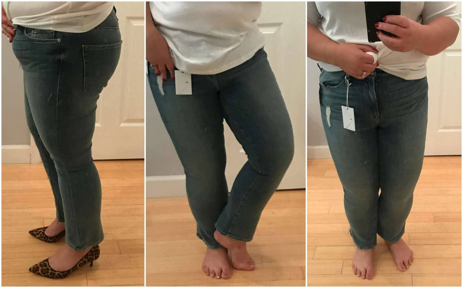 Good American Good Cuts High Rise Boyfriend Jeans review