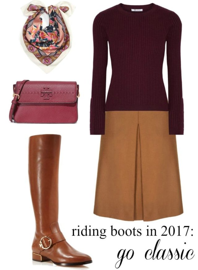 how to style riding boots 2017