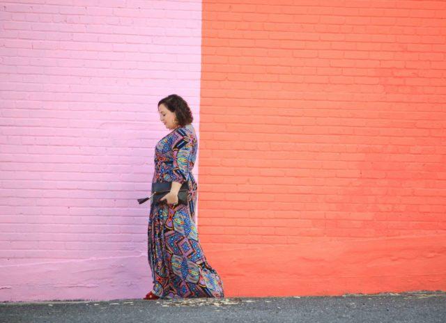 melissa mccarthy seven maxi dress