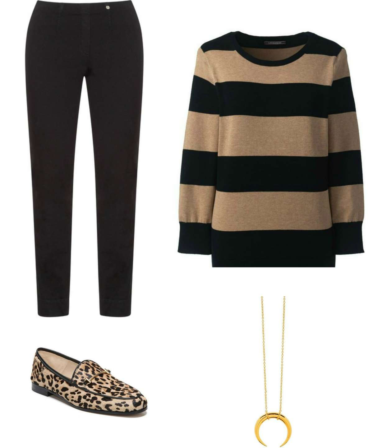 Leopard and stripes are always a winning combination!