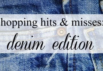 Recent Retail Hits and Misses: Denim Edition
