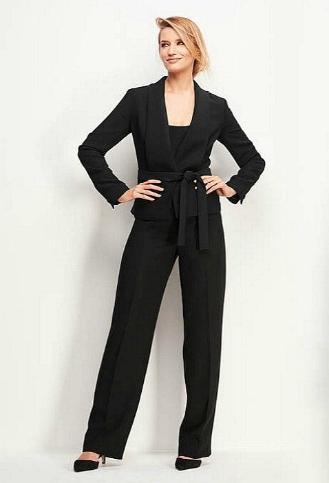 plus size le smoking cocktail pantsuit from Talbots