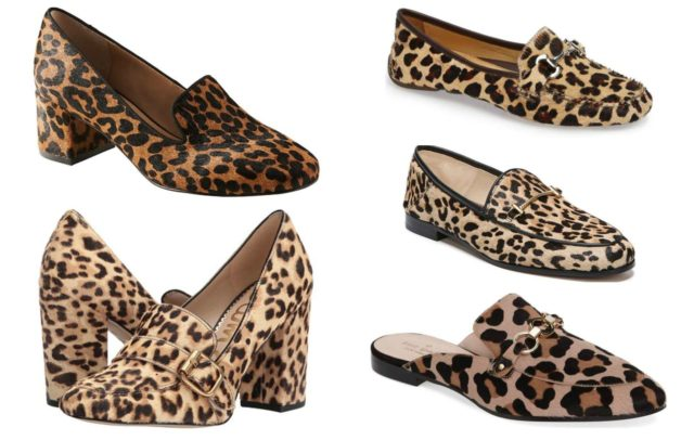 the best leopard print loafers