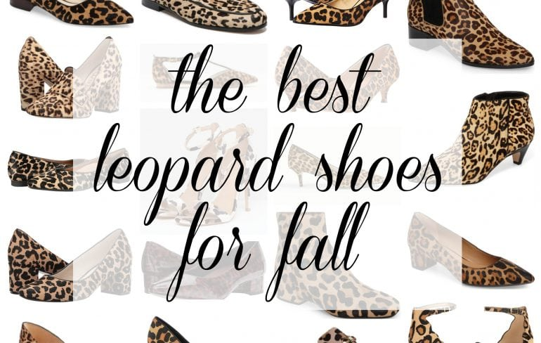 the best leopard shoes for fall