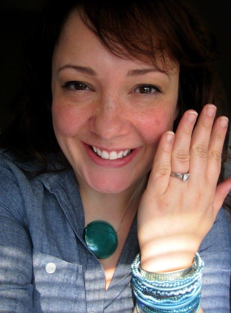 wardrobe oxygen engagement ring