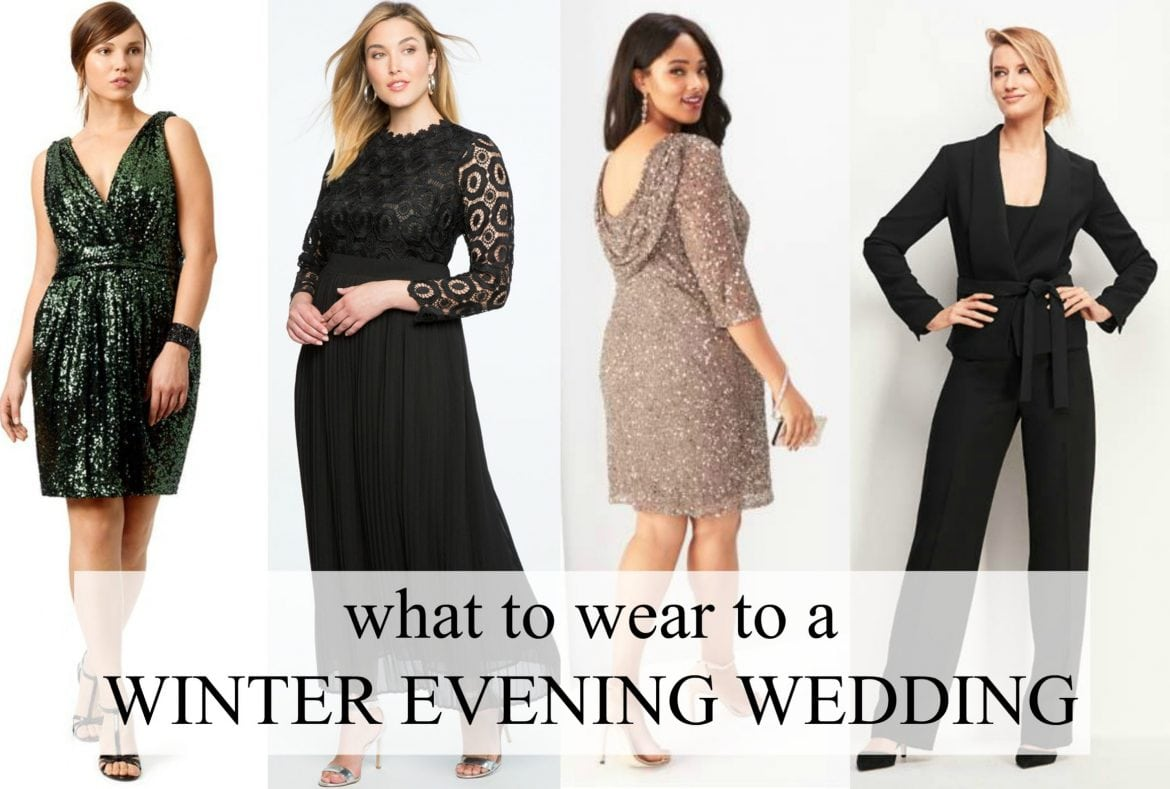 what to wear to a winter evening wedding