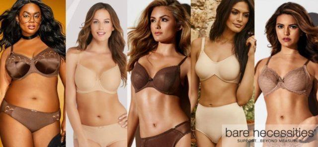 bare necessities lingerie bras panties shapwear skintones