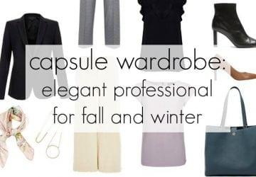 Capsule Wardrobe: Elegant Professional