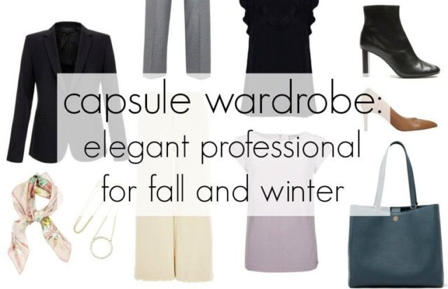 capsule wardrobe elegant professional workwear for fall and winter by wardrobe oxygen