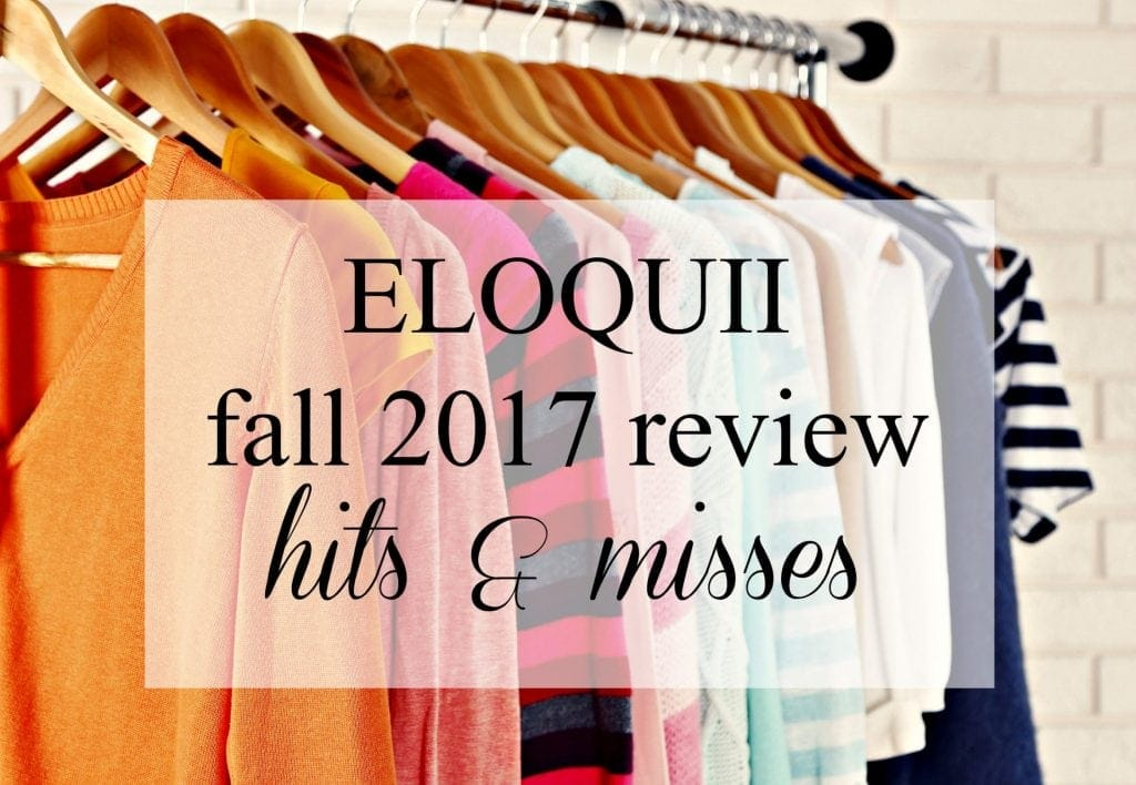 ELOQUII Fall 2017 clothing review by wardrobe oxygen