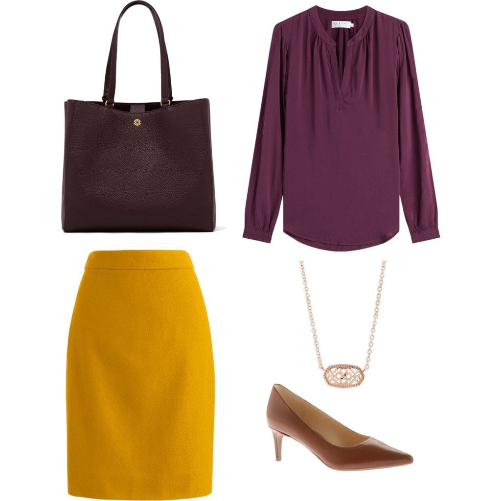 Tips on how to wear mustard and citron for fall and winter by Wardrobe Oxygen