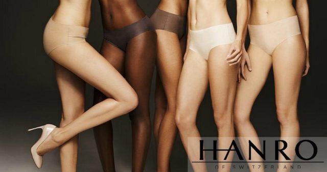 hanro invisible cotton skin tones brown