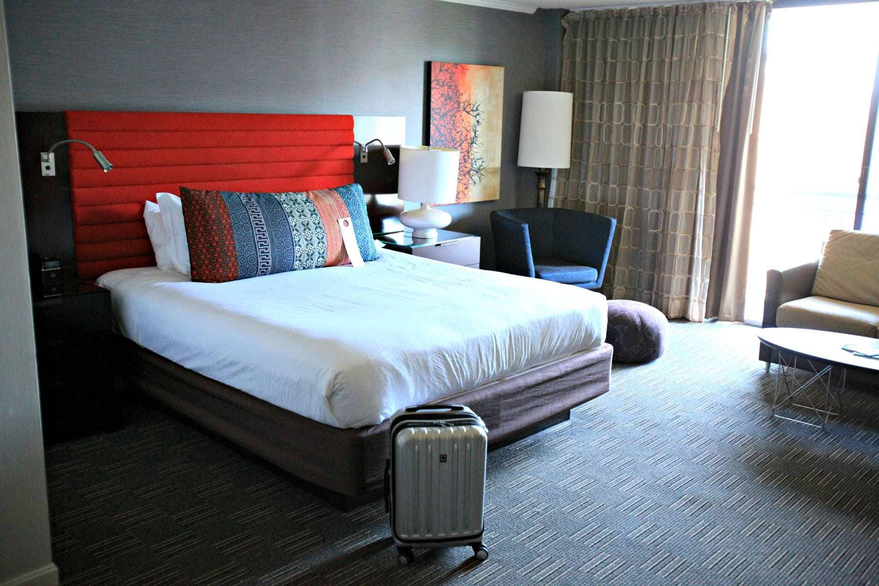 kimpton hotel madera deluxe king with balcony room