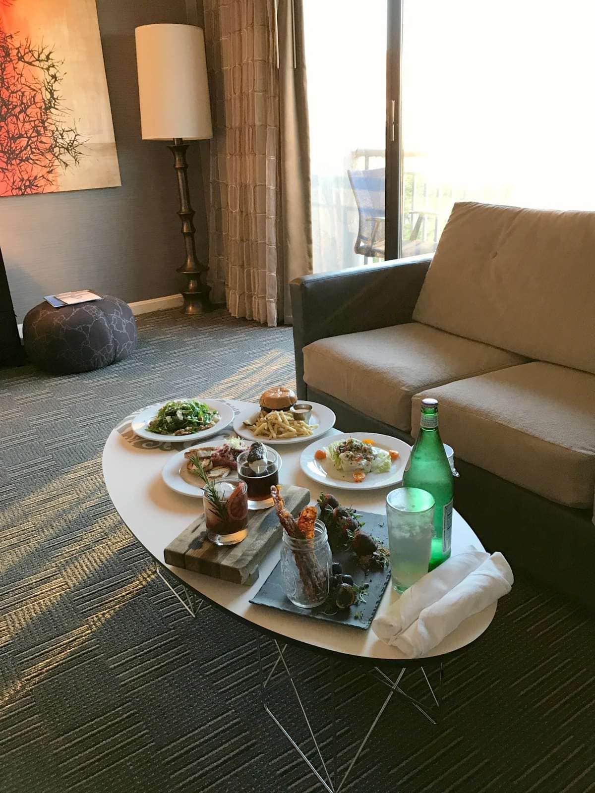 kimpton hotel madera room service firefly
