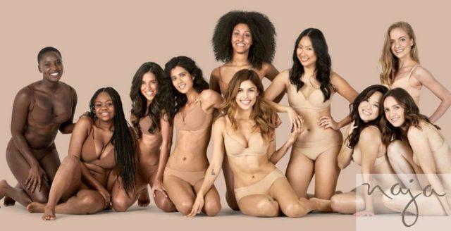 where to find nude bras for brown skin? naja intimates has bras panties brown skin nude colors