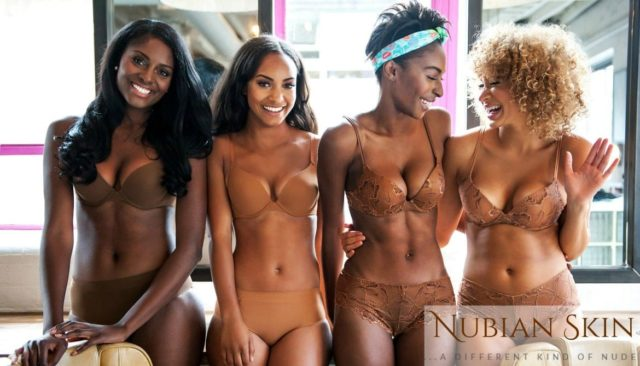 where to find nude bras for brown skin? nubian skin lingerie is a different kind of nude and has all sorts of intimates in a range of colors