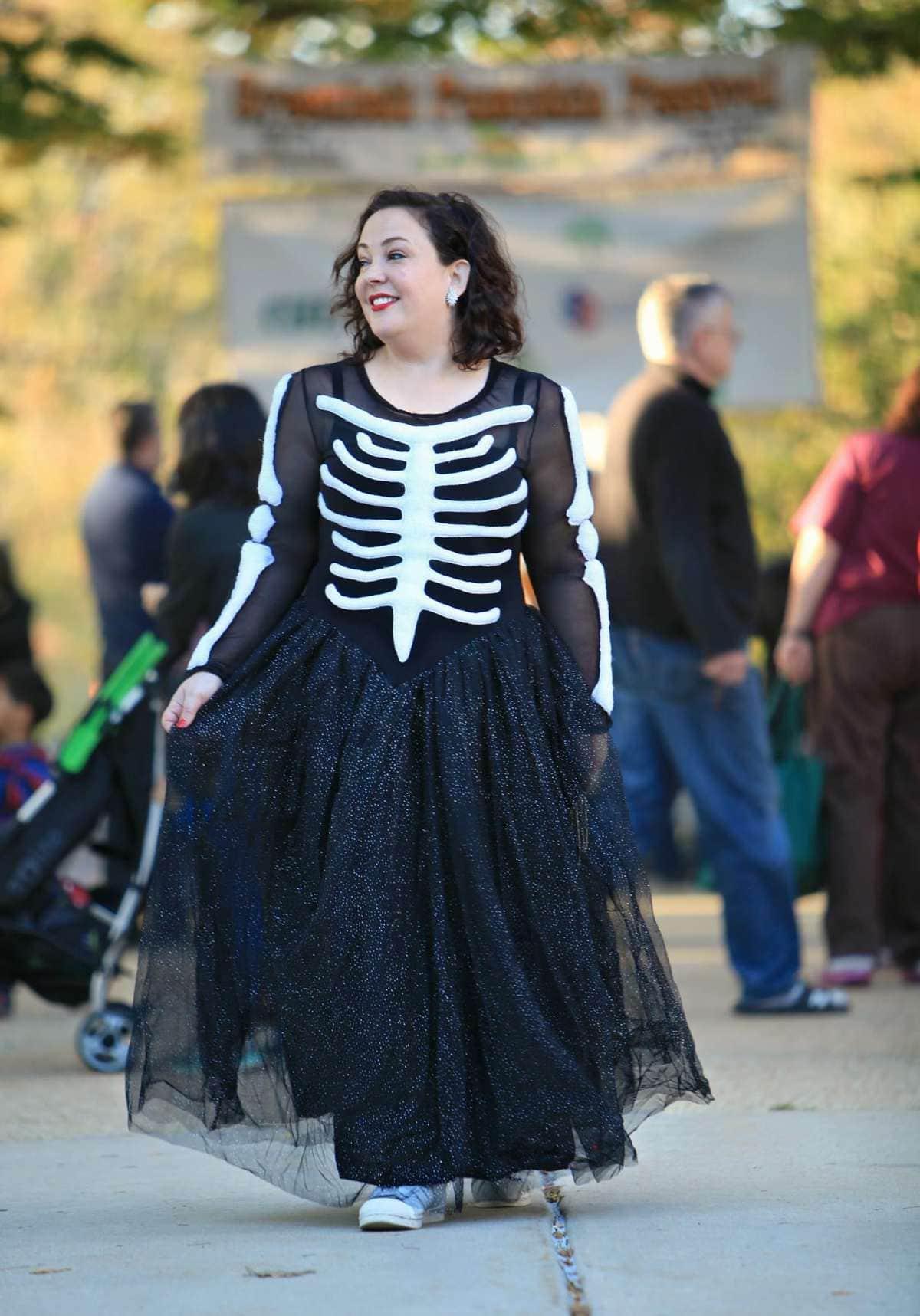 skeleton dress plus size