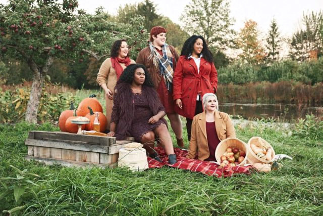 Full Beauty Fall Fashion #ownyourcurves