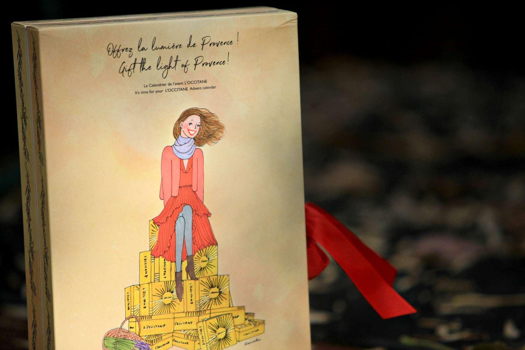 LOccitane advent calendar
