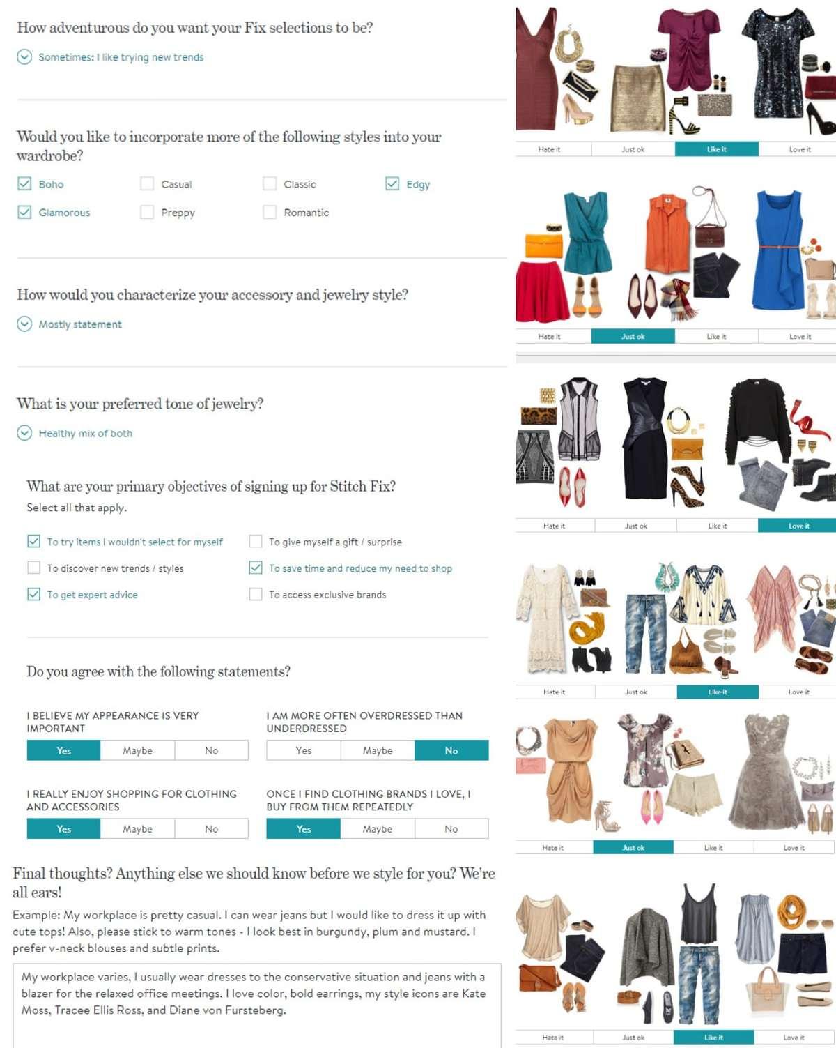 Stitch Fix Review: Survey Results