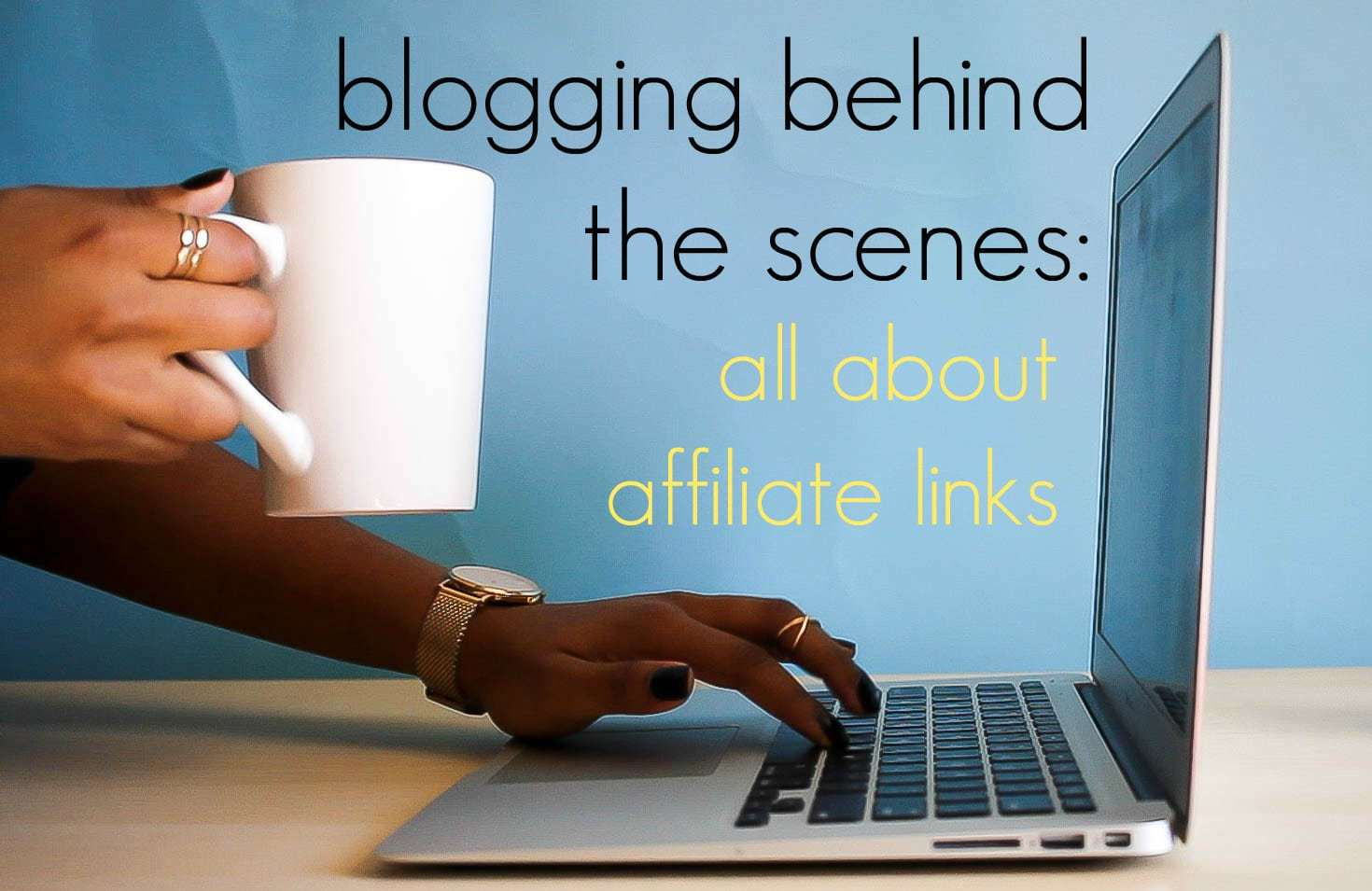 all about affiliate linking and blogging by wardrobe oxygen