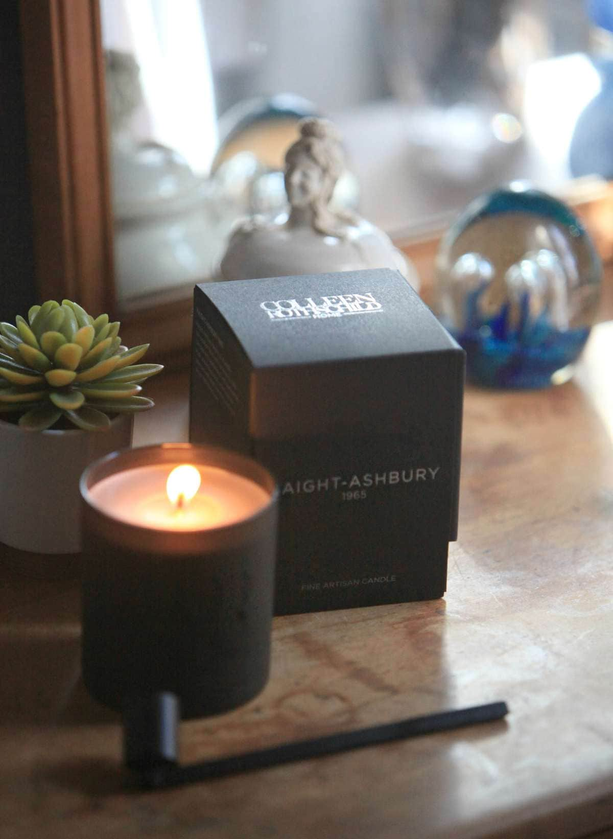 colleen rothschild haight ashbury candle