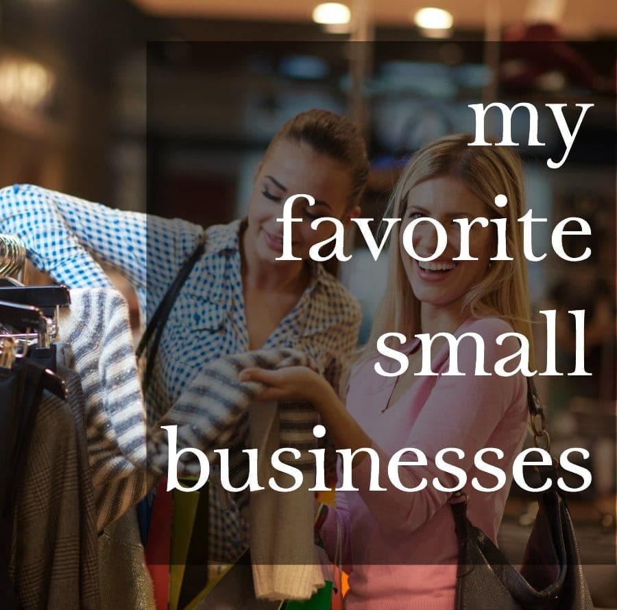 favorite small businesses to shop for fashion