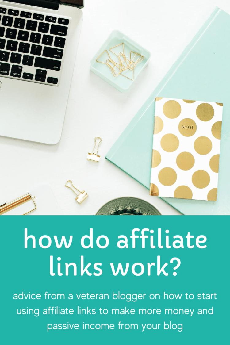 how do affiliate links work