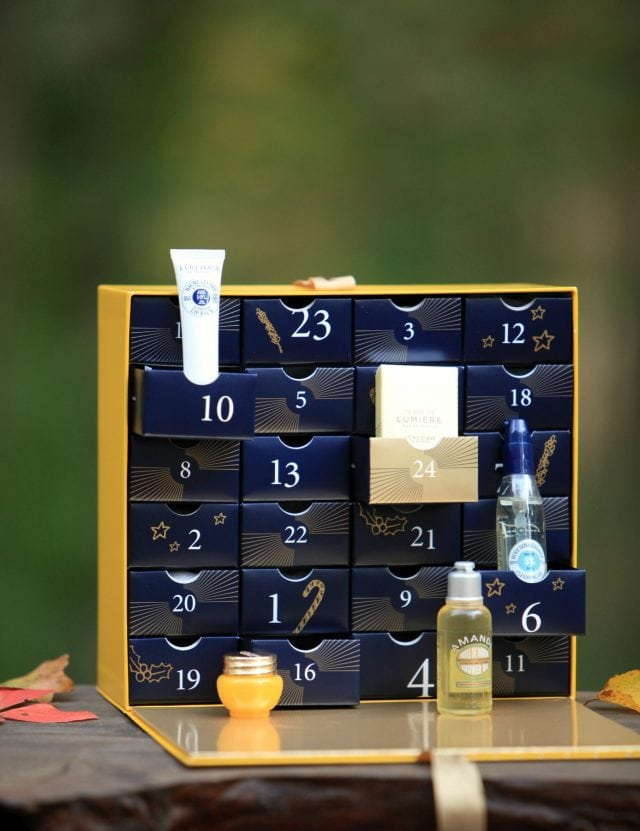 loccitane luxury advent calendar
