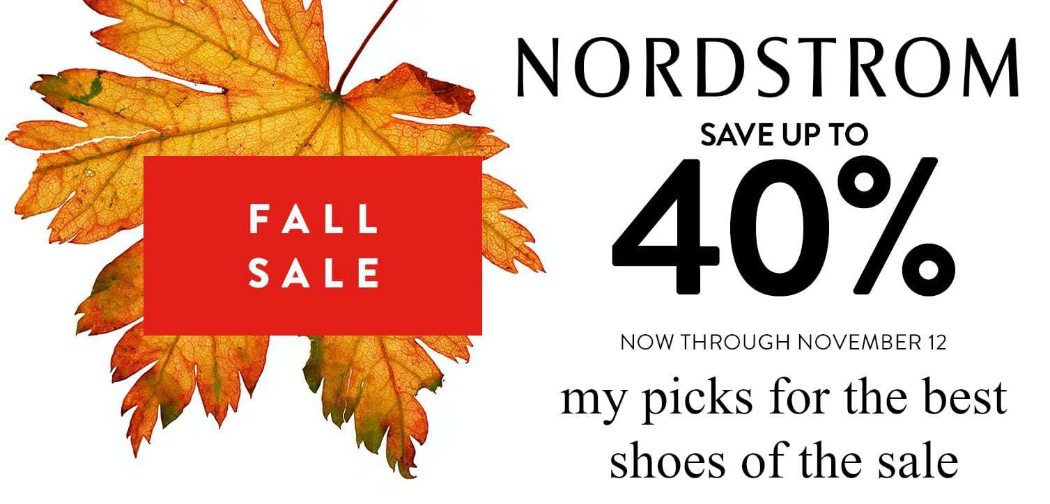 nordstrom fall sale - the best shoes of the sale by wardrobe oxygen