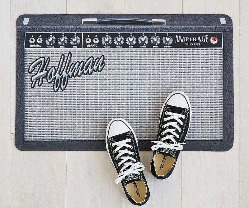 personalized amp doormat review