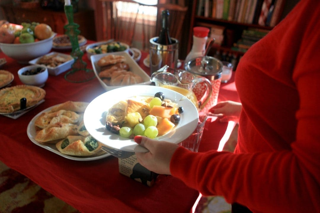a FreshDirect DC brunch for the holidays