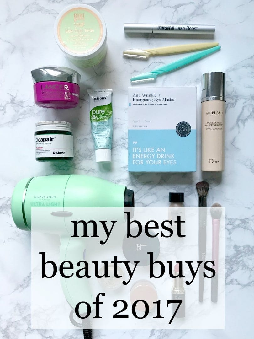 best beauty buys of 2017