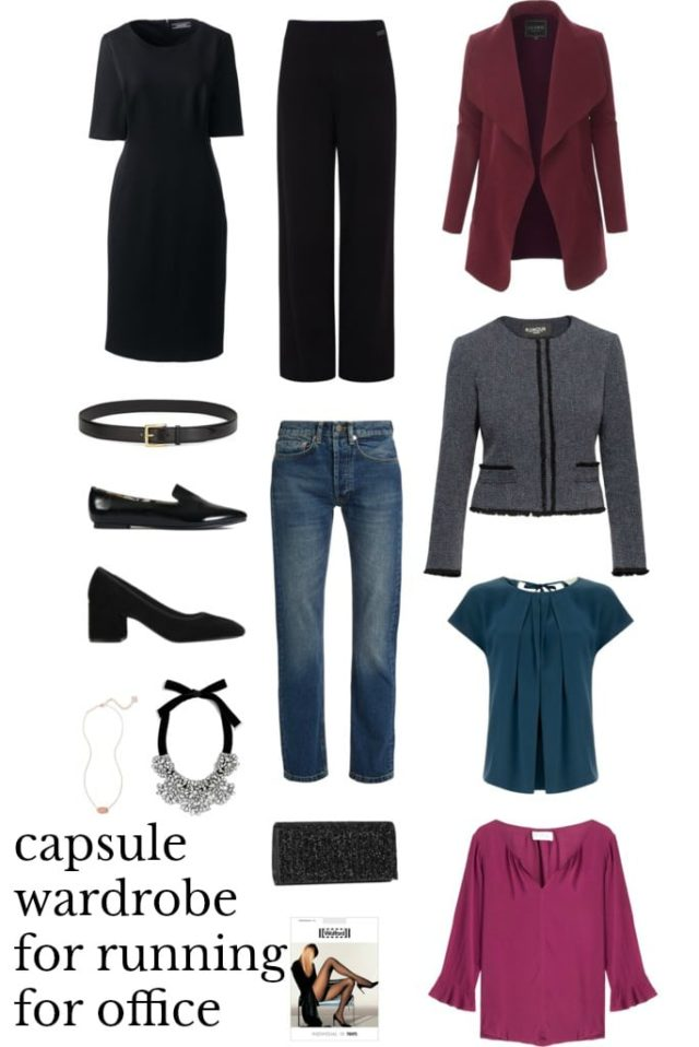 capsule wardrobe for running for office - What to Wear When Running for Office- The Political Candidate's Capsule Wardrobe for Women