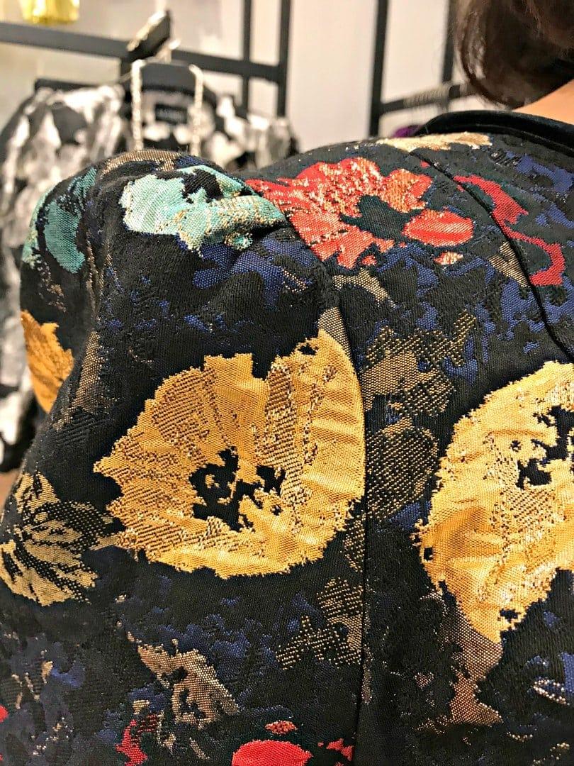 eloquii brocade dress detail