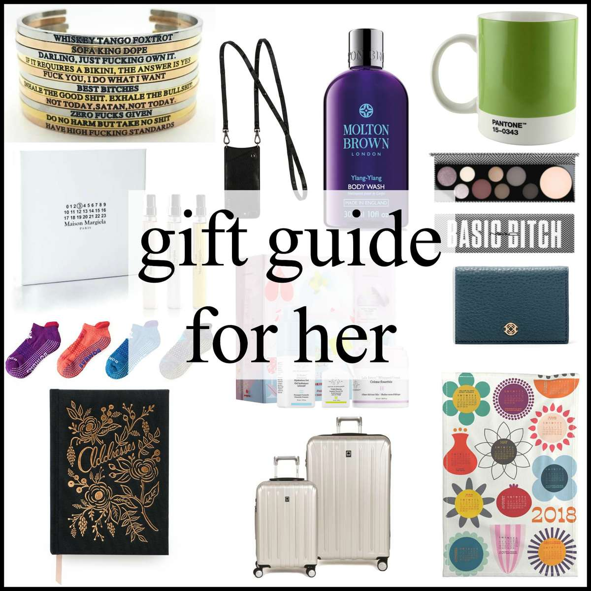 gift guide for her by wardrobe oxygen