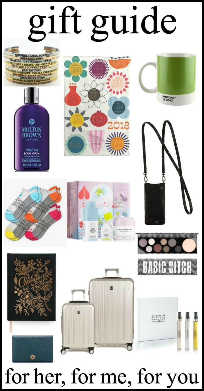 Holiday Gift Guide for Her: For friends or for your self!