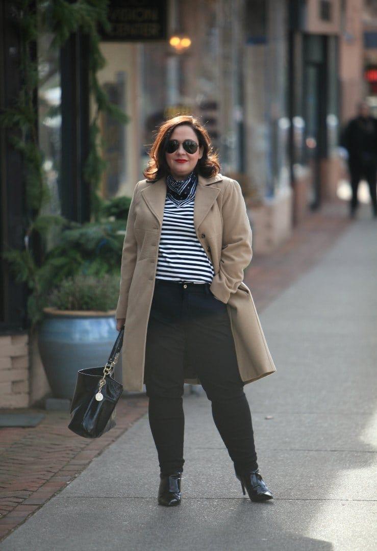 over 40 plus size fashion blog