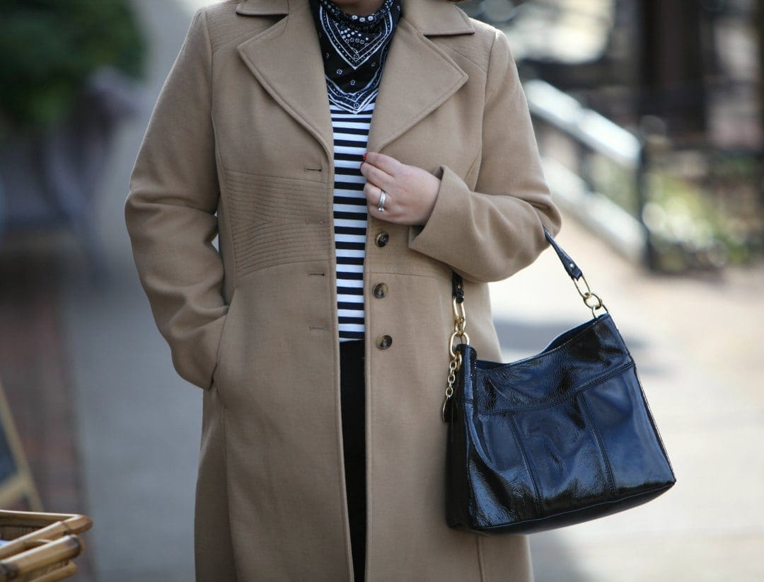 plus size tommy hilfiger camel coat