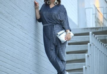 What I Wore: Jumpsuit Sparkle