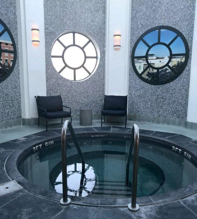 belmond charleston place hot tub spa