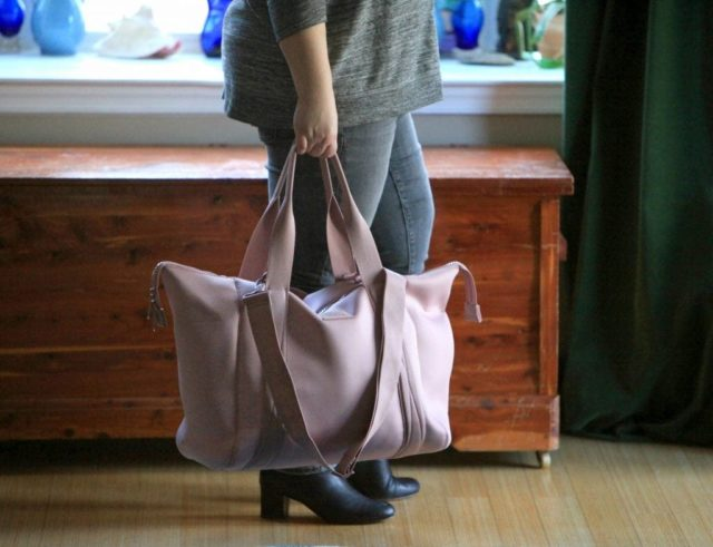dagne dover landon carryall review by wardrobe oxygen