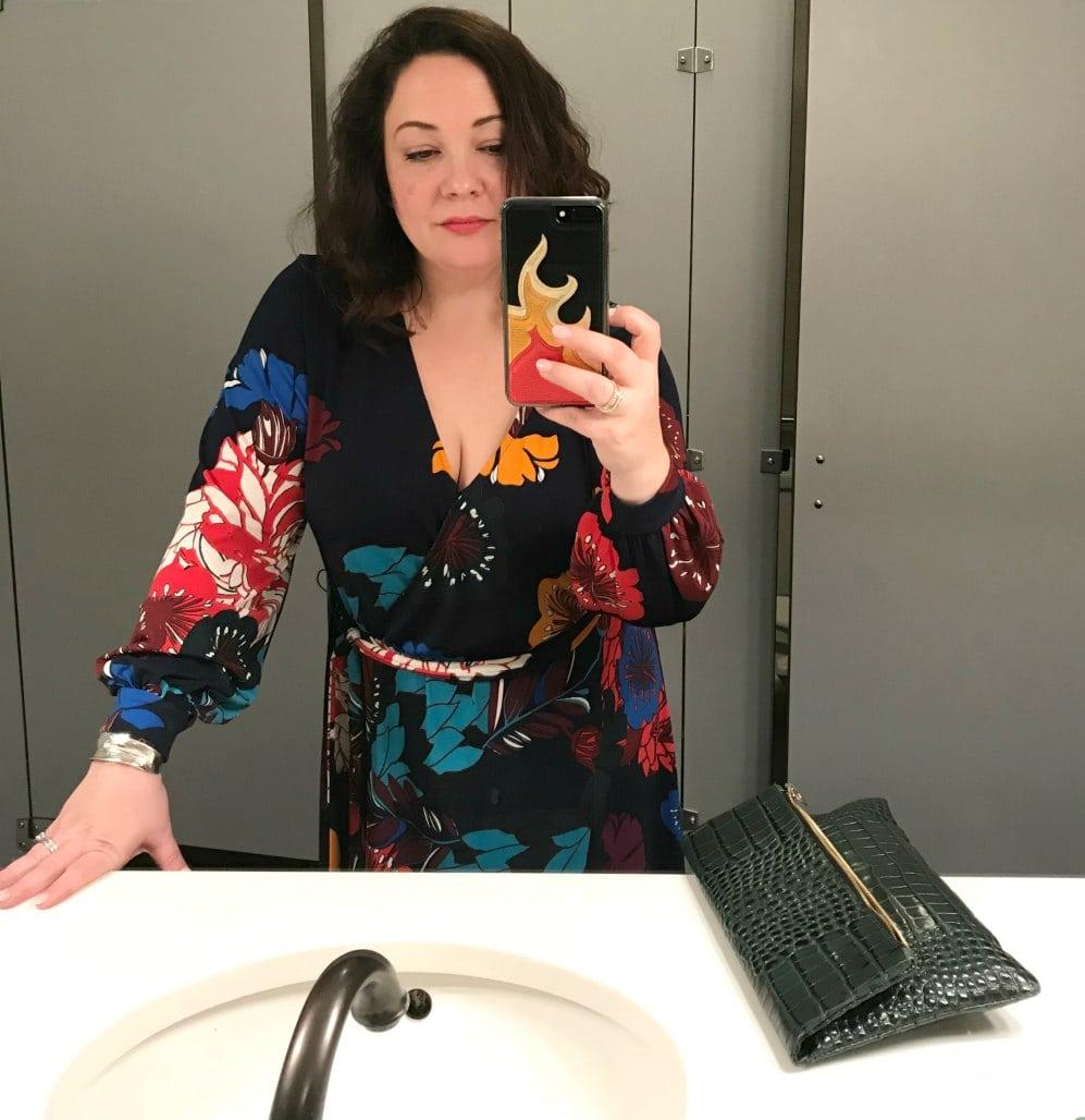 eloquii floral maxi dress