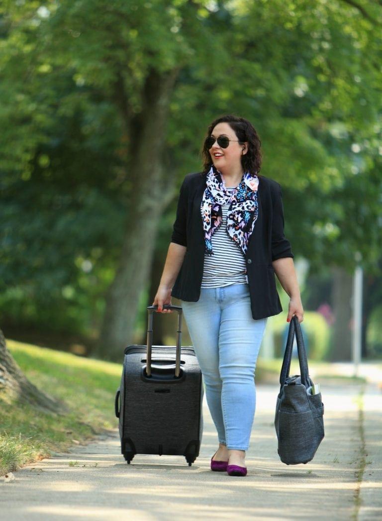 rachel rachel roy ponte blazer review on wardrobe oxygen