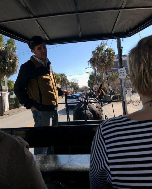 slavery to freedom carriage tour charleston