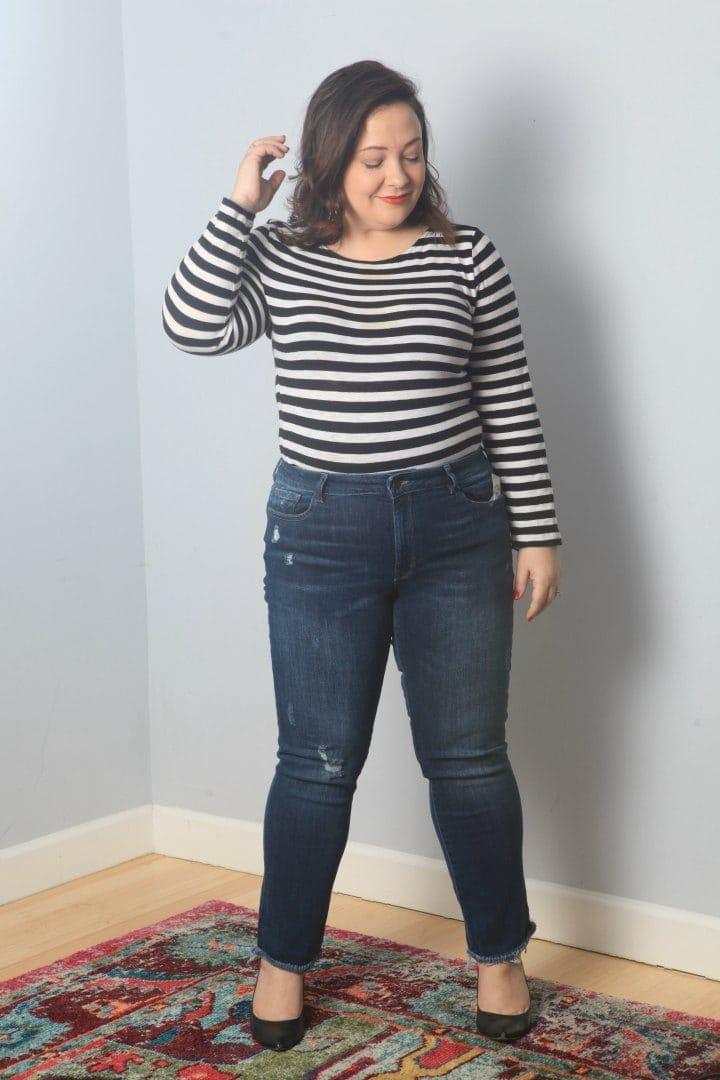 stitch fix jeans plus size review