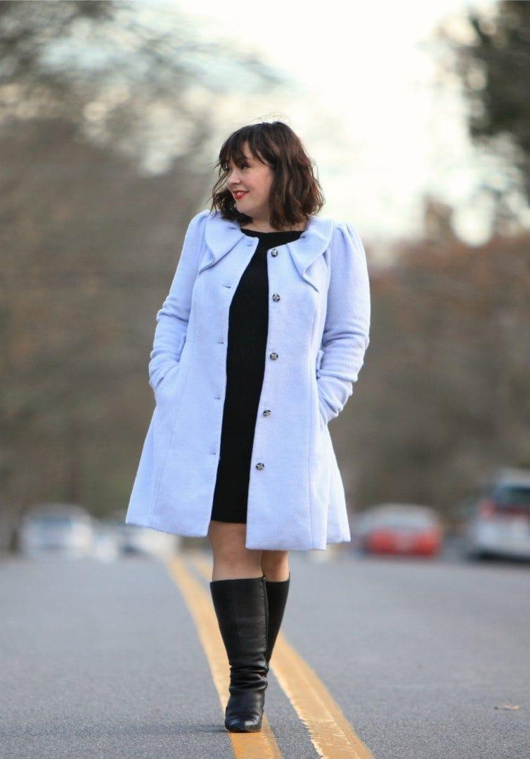 wardrobe oxygen in a citychic coat